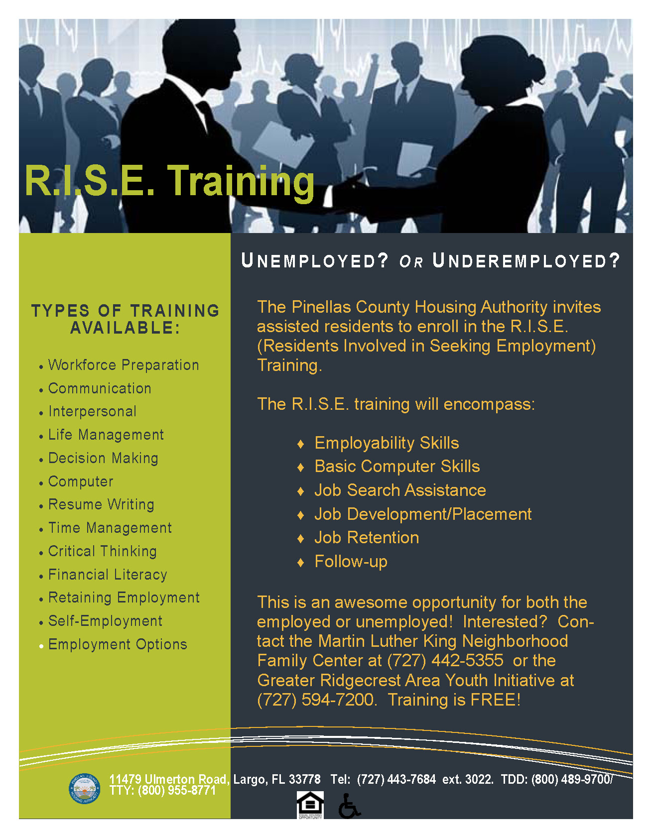 R I S E  Training Flyer