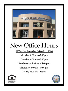New Office Hours 3.1.2016