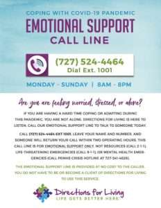 Emotional Support Flyer